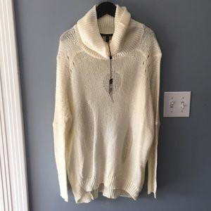 BCBG Cream Sweater